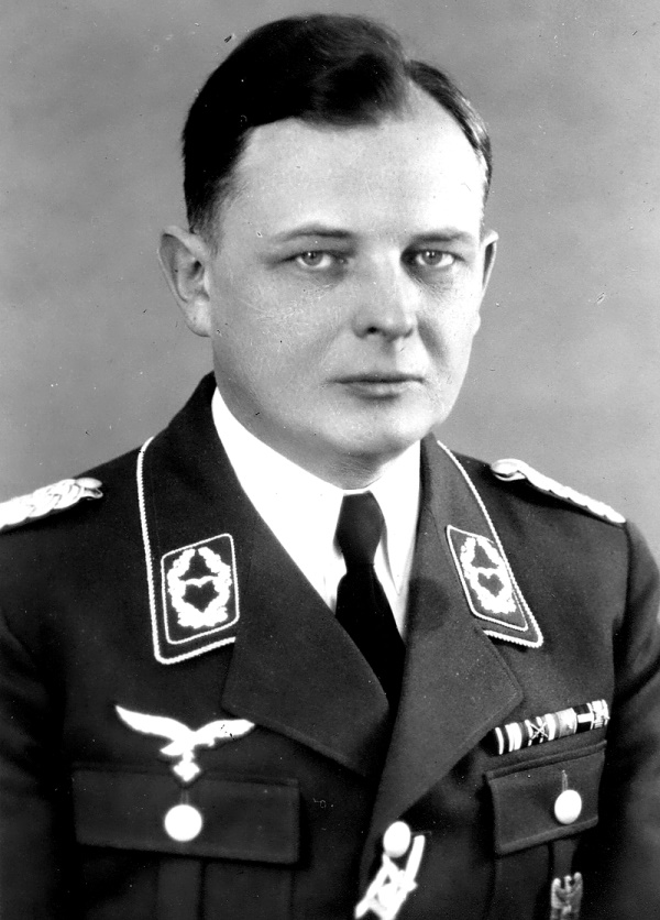 Oberstleutnant (Lt Col) Nikolaus Ritter led spy rings in the United States, Great Britain, and North Africa from 1936 to 1941. Ritter was born in Germany and had served as an officer in the First World War on the Western Front in France where he was twice wounded. He emigrated to New York in 1924, married an American, and returned to Germany in 1936 to join the Abwehr as Chief of Air Intelligence based in Hamburg operating under the code name: DR. RANTZAU