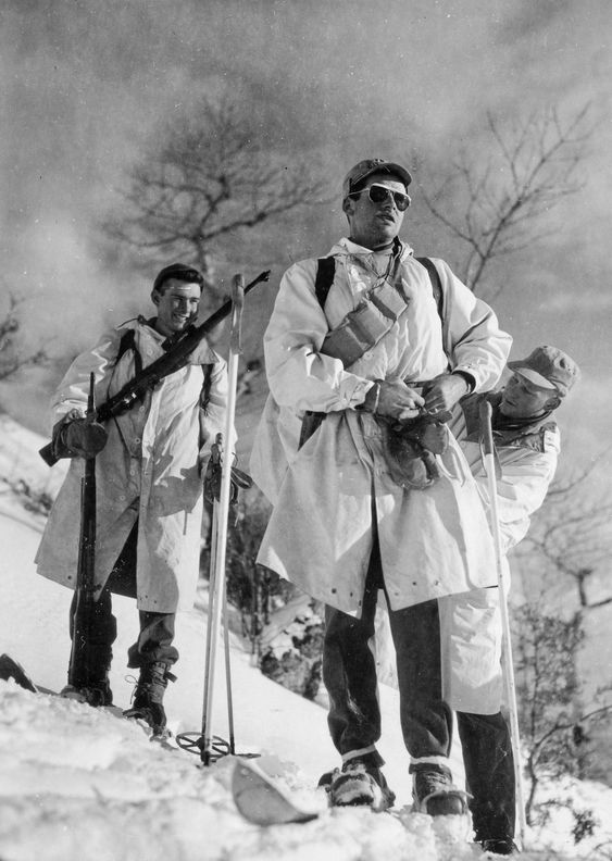 10th Mountain Division patrol on the Apennine mountains (Gothic Line)