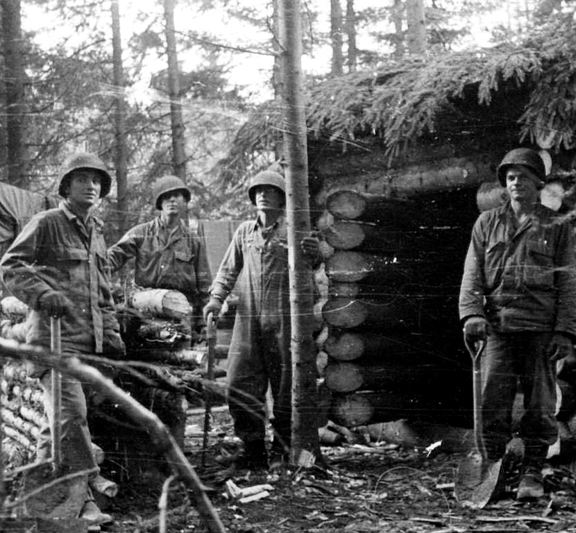 28-ID Soldiers in the Huertgen Forest