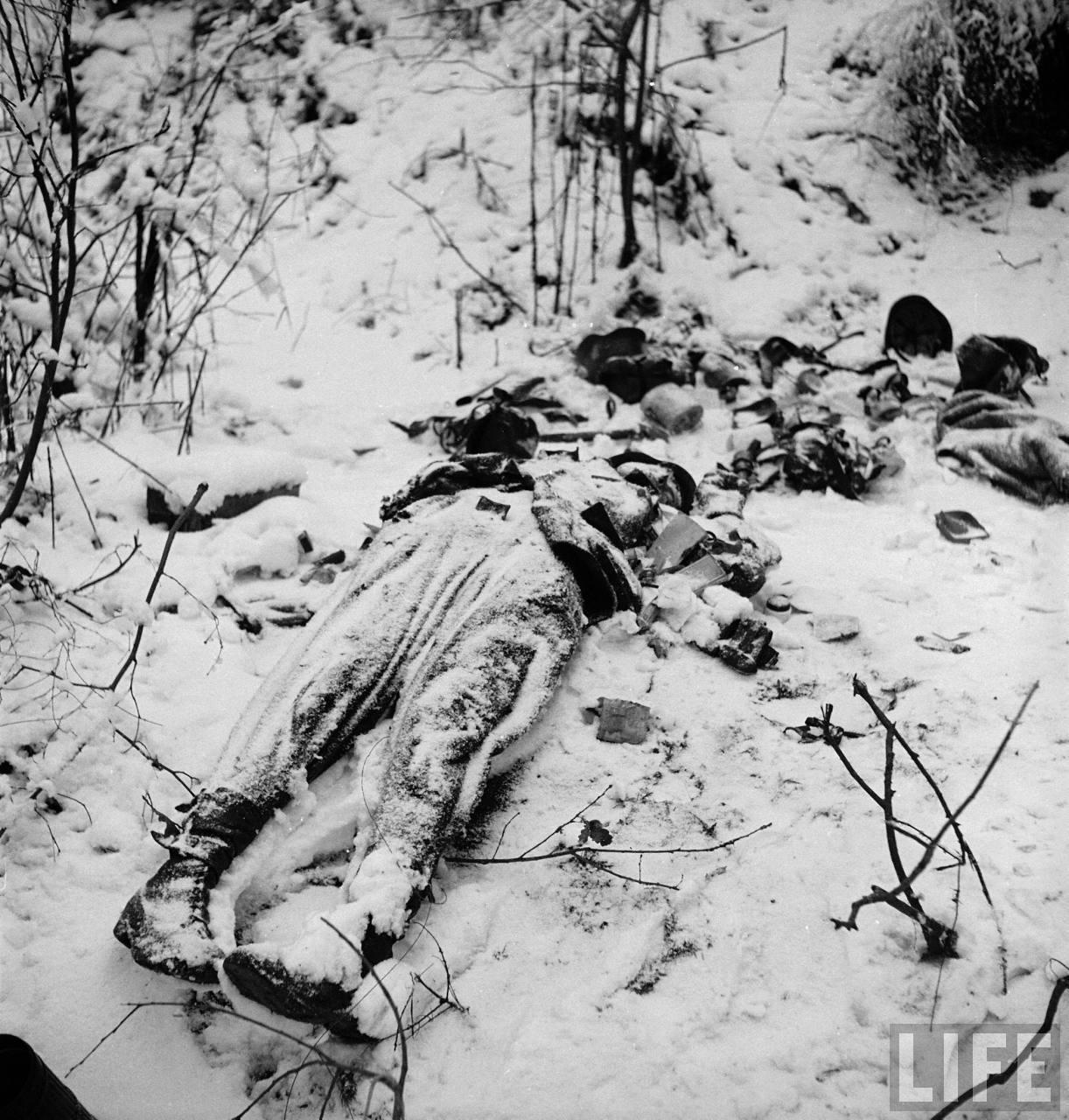 A German killed Soldier