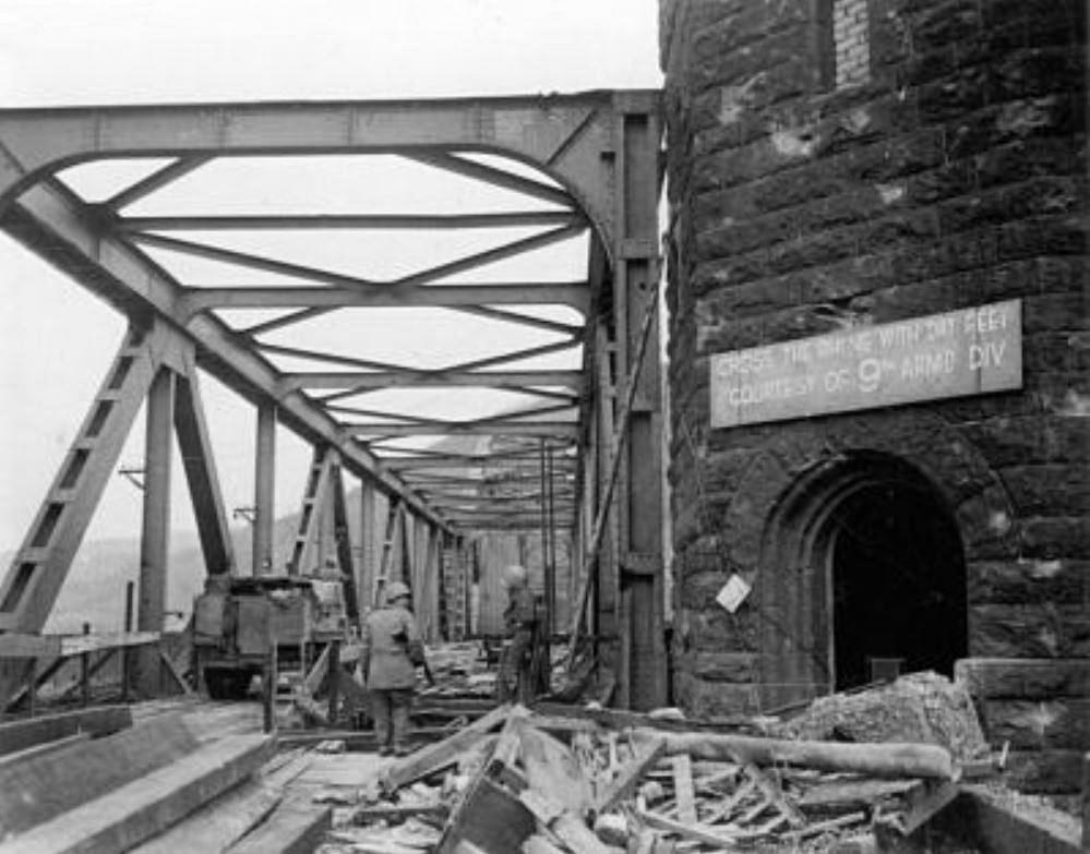 The Ludendorff Bridge in Remagen