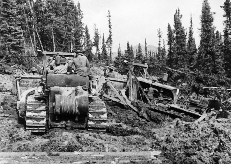 Construction of the Alcan Road