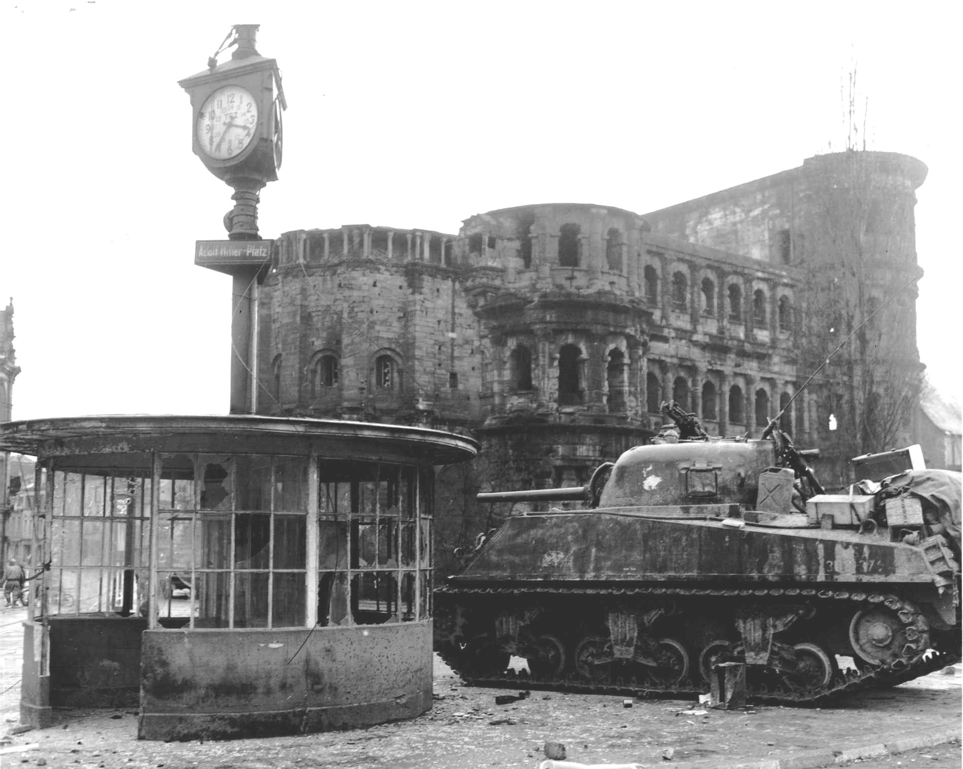Capture of Trier, Germany, March 2 1945