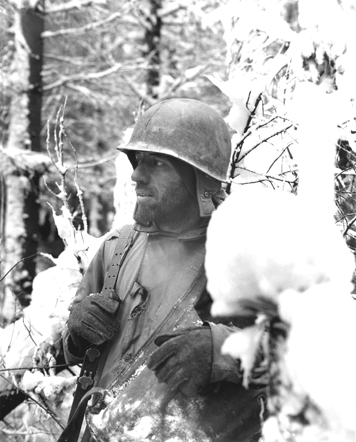Real faces of the Battle of the Bulge