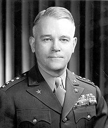 Gen Joseph Lawton Collins (May 1, 1896 – Sept 12, 1987) was a senior US Army officer. During World War II, he served in both the Pacific and European Theaters of Operations, one of a few senior American commanders to do so