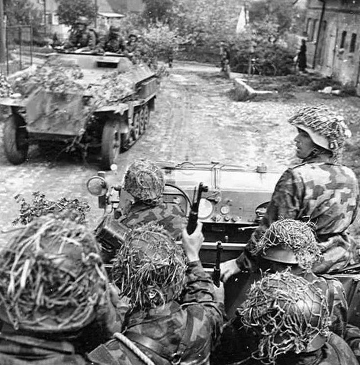 German Soldiers in Normandy