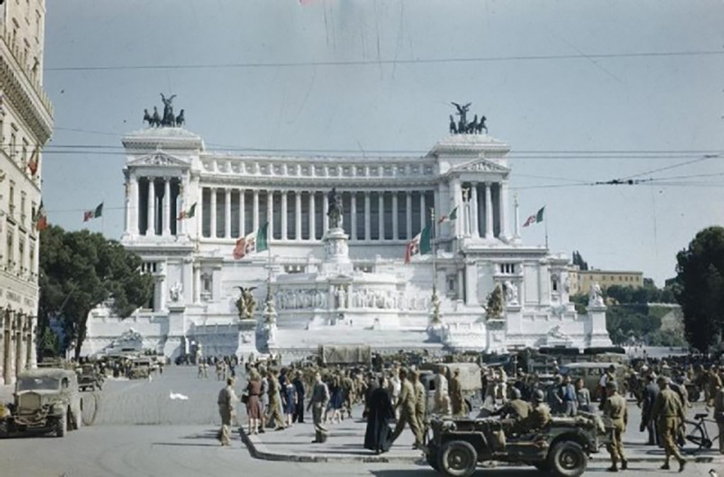Liberation of Rome, Italy