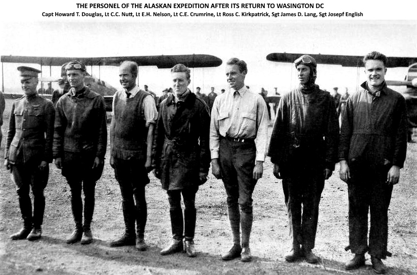 Personnel of the 1920 Alaskan Expedition (Capt Streett is not shown)