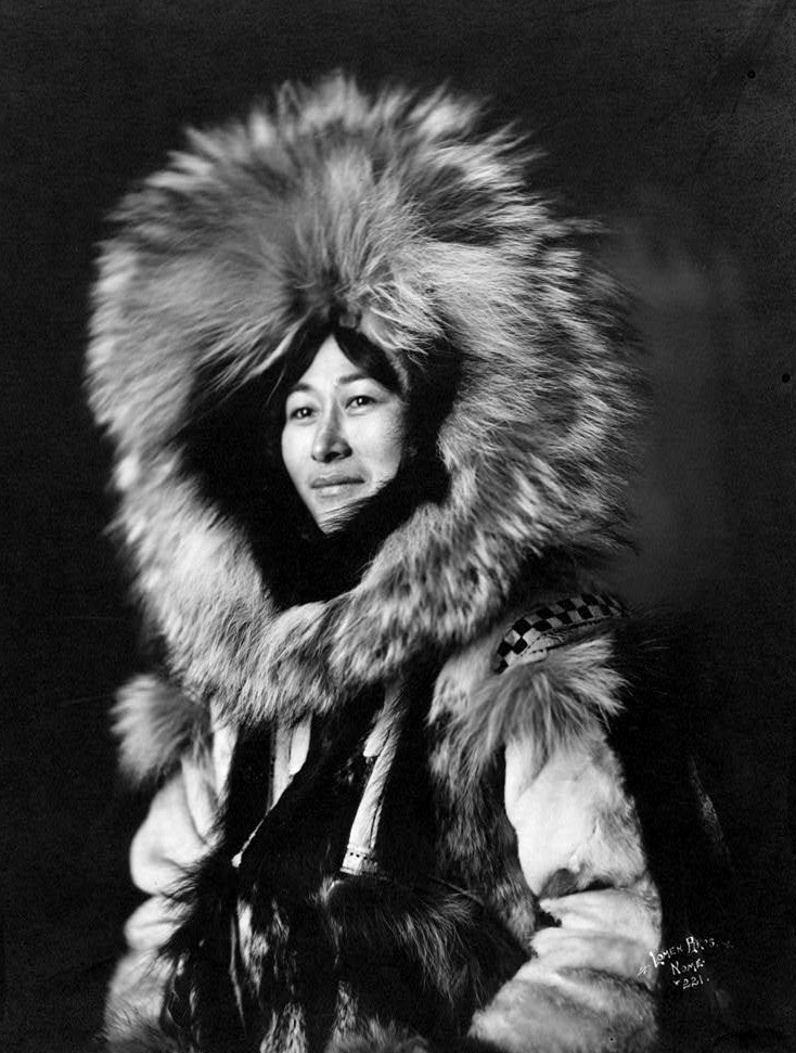 The Pillar of the Country in the 40s and way far before, one beautiful Inuit Alaska Woman