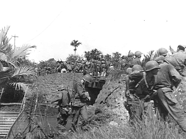 Members of the 24th Infantry Division In the Philippines