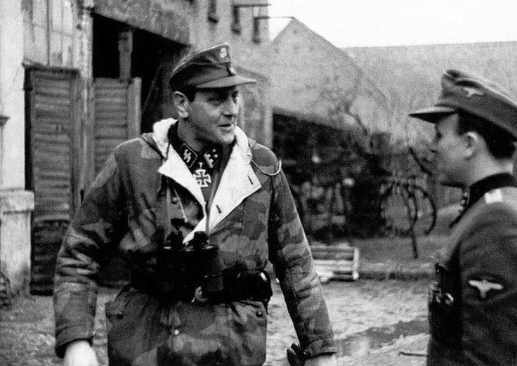 SS-Obersturmbannführer Otto Skorzeny CG 150.Panzer-Brigade