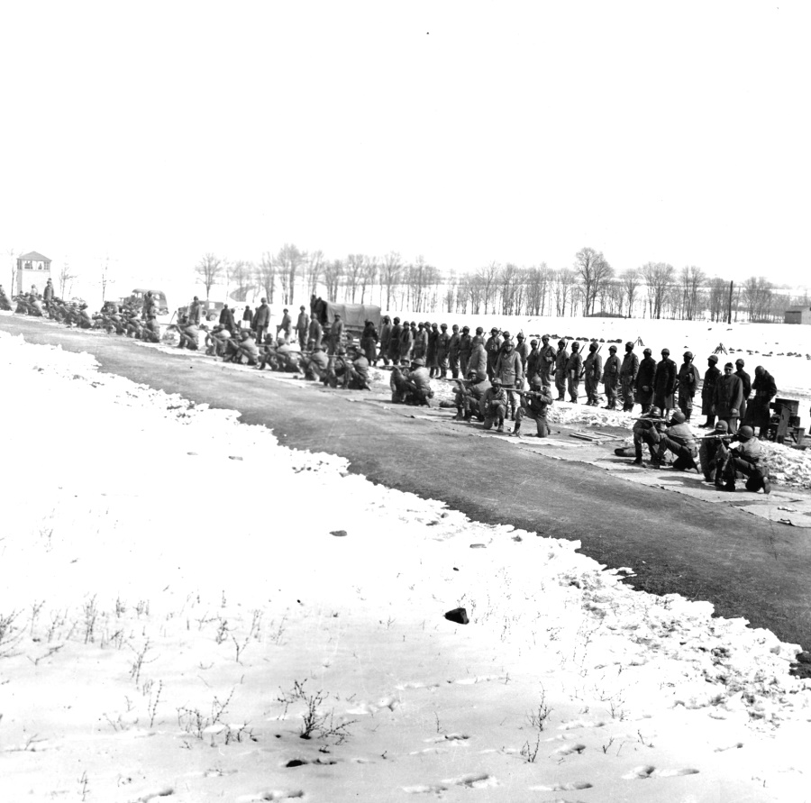 (Courtesy of the Pennsylvania State Archives) Pennsylvania was home to 40 important military and naval installations during WWII. After the federal government nationalized it in 1940, Indiantown Gap Military Reservation, the peacetime home of the Pennsylvania National Guard, underwent a vast construction program. Camp Reynolds, in western PA, was the other large camp in the state
