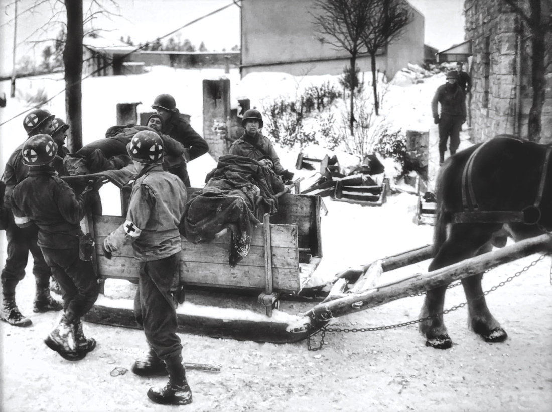 16th Infantry Regiment Aid Station in Weywertz