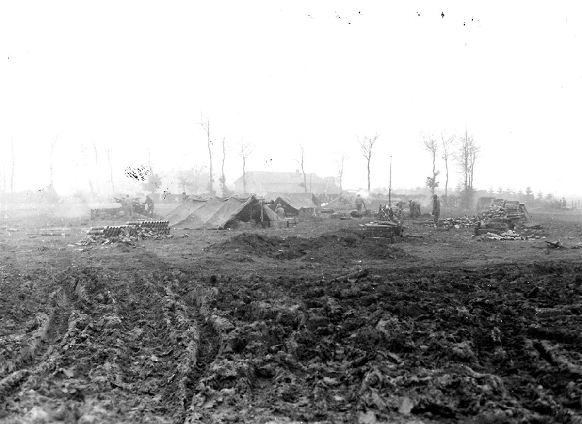 Artillery Support, Kinkelt, 38-FAB, 2-ID