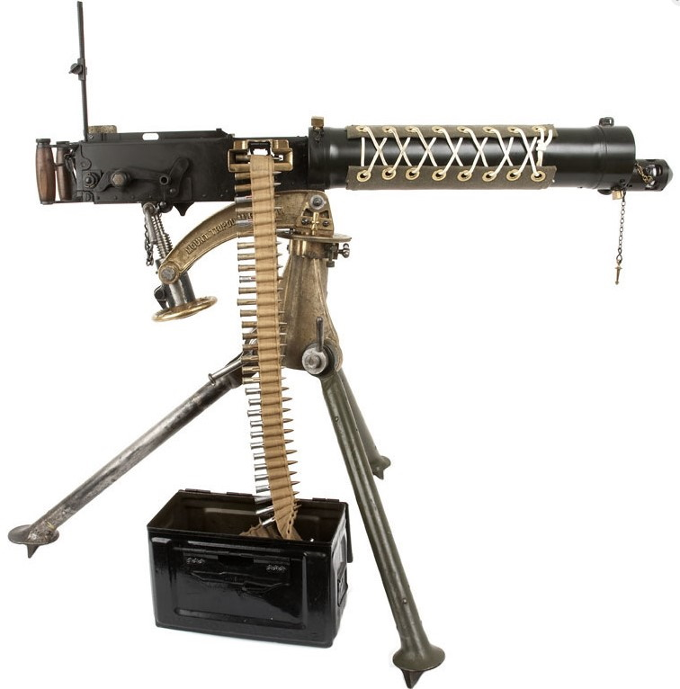 The Vickers machine gun or Vickers gun is a name primarily used to refer to the water-cooled .303 British machine gun produced by Vickers Limited