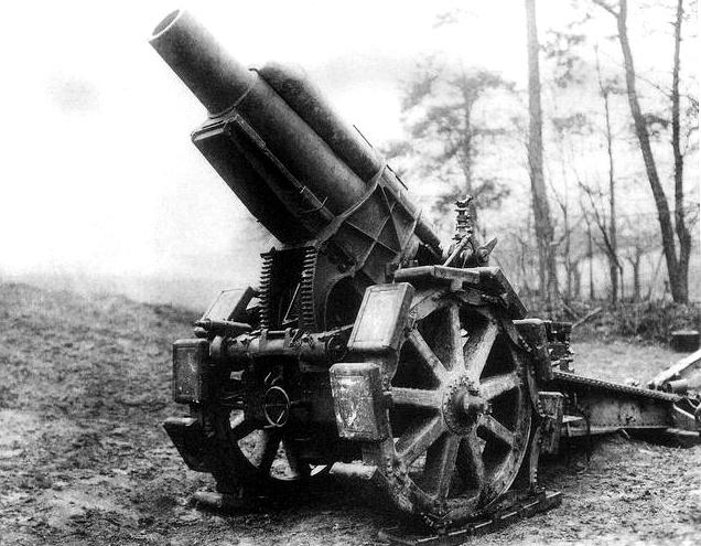 German 21 CM (210-MM Howitzer