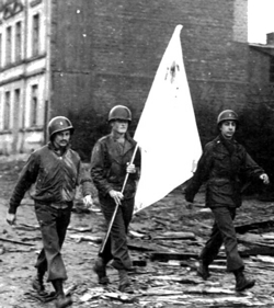 Wednesday, Oct 11, 1944, Aachen Given Ultimatum,  Yanks Warn City Must Yield Today Or Be Wiped Out