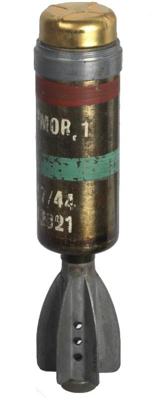 2' HE Mortar Bomb