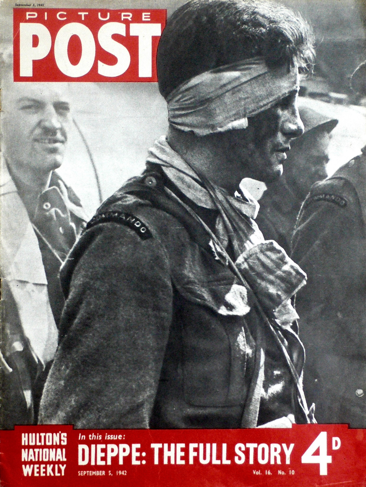 September 1942, Picture Post, Dieppe