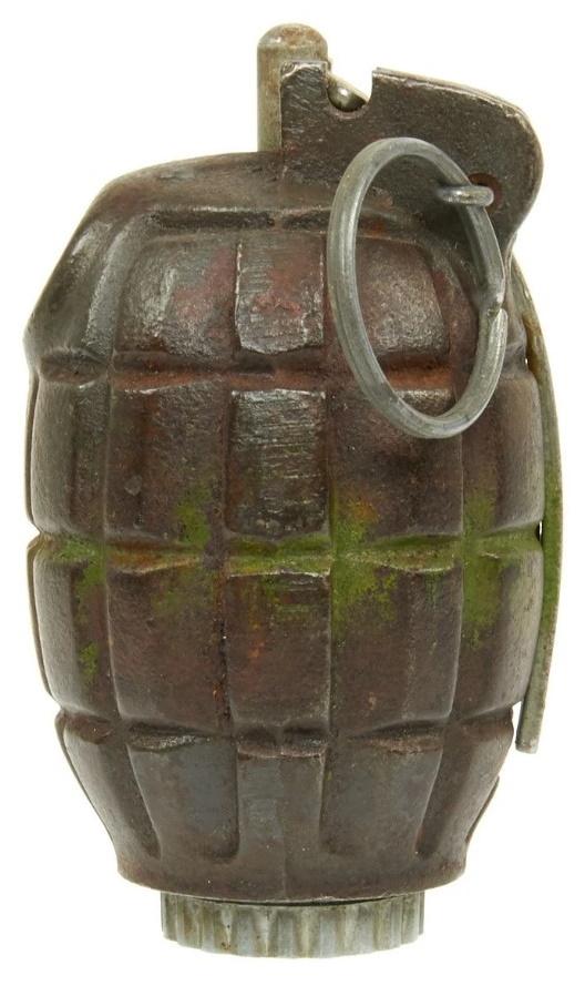 British WWII Mills Bomb No. 36M MKI Grenade
